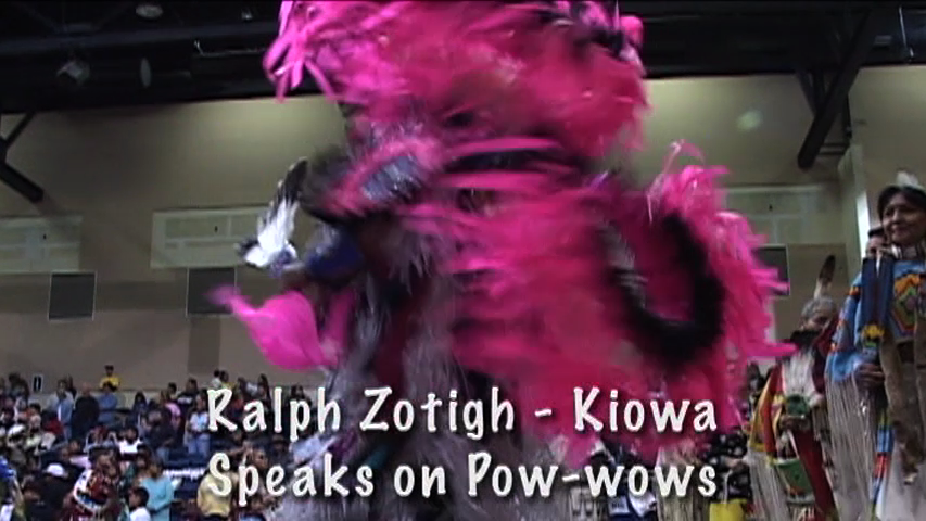 Ralph Zotigh, Kiowa-Speaks on Powwows